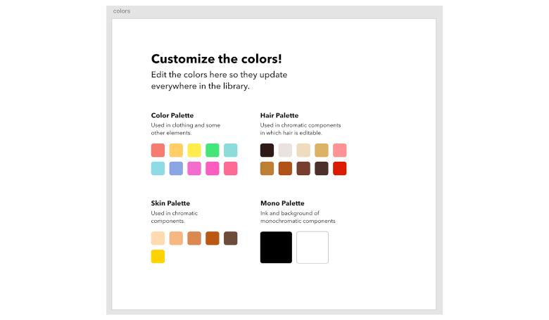 OpenPeepsの色