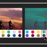 写真をデュオトーン加工できる無料オンラインデザインツール『Duotone』