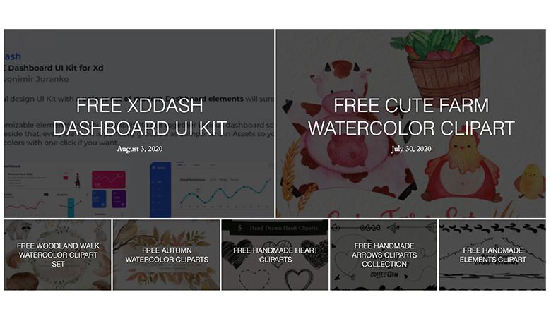 Creativetacosのサイト画像