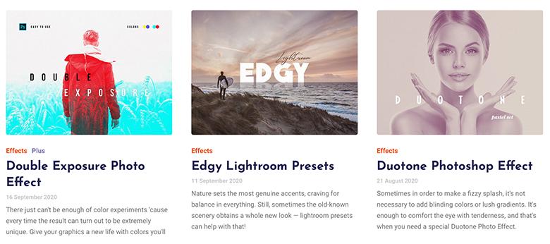 Pixelbuddhaのサイト画面