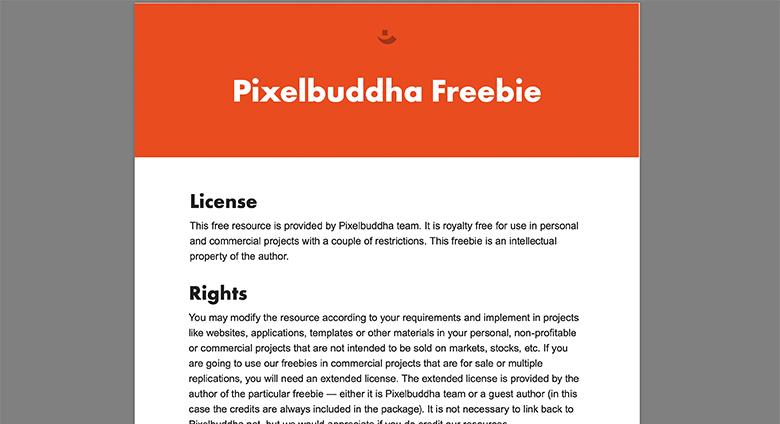 Pixelbuddhaのライセンス画像